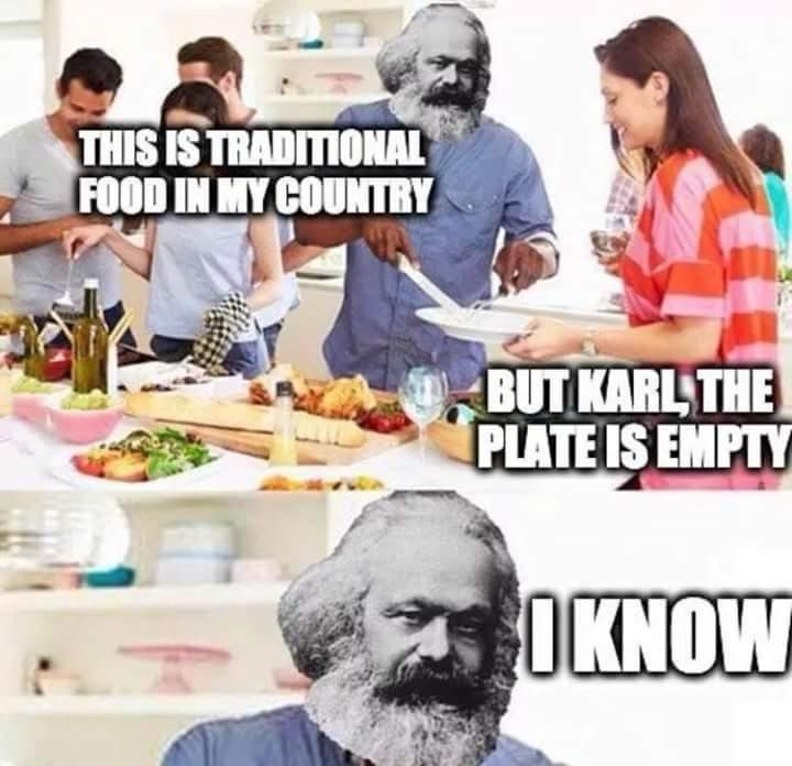 Empty plate - meme