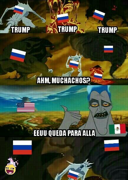 ...Durante la invasión... - meme