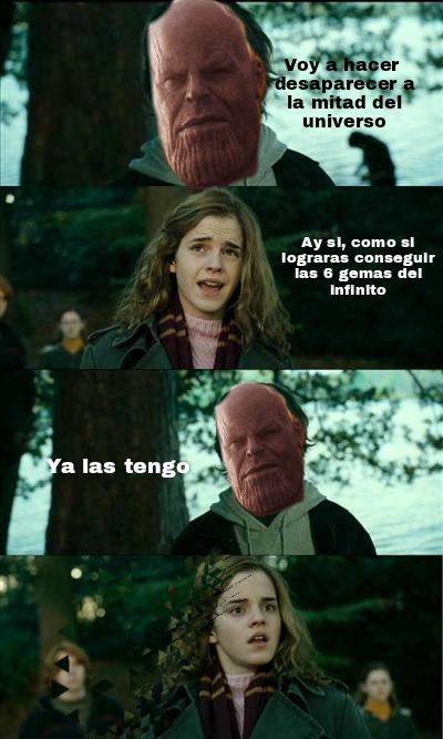 Ese Thanos - meme