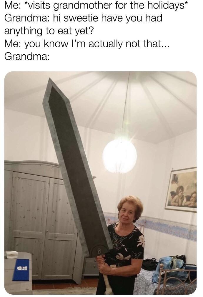 My grandma - meme