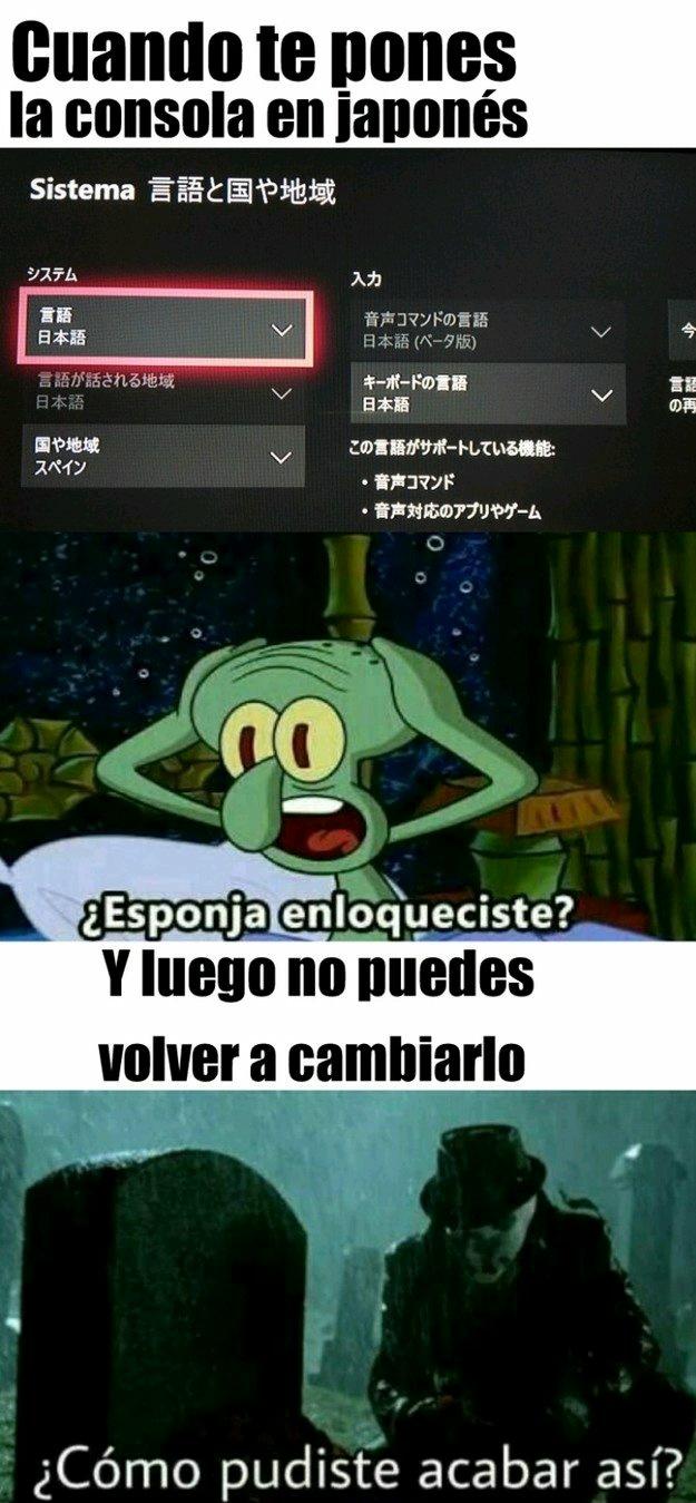 Consola :( - meme