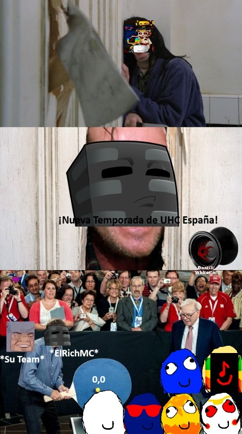 UHC España descripción gráfica. - meme