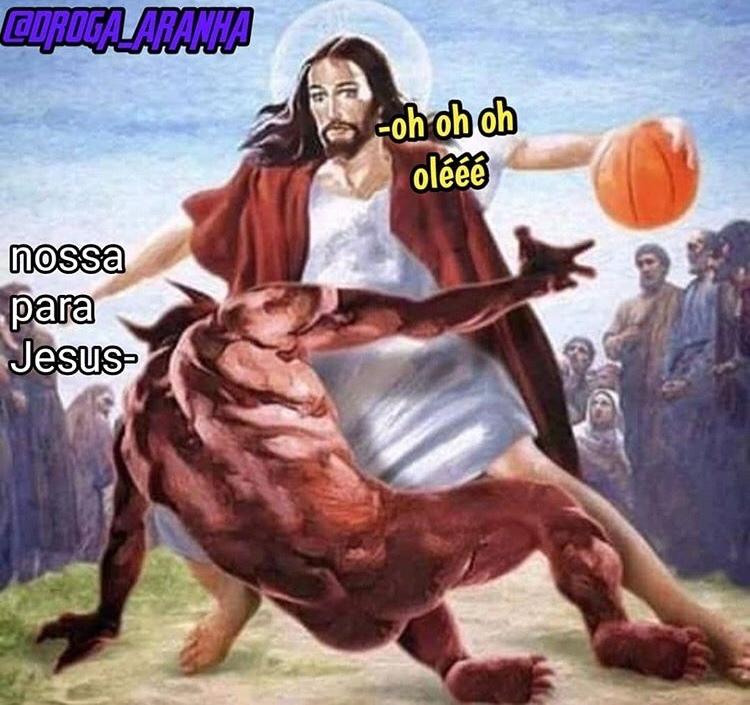 esse Jesus é o bixo - meme