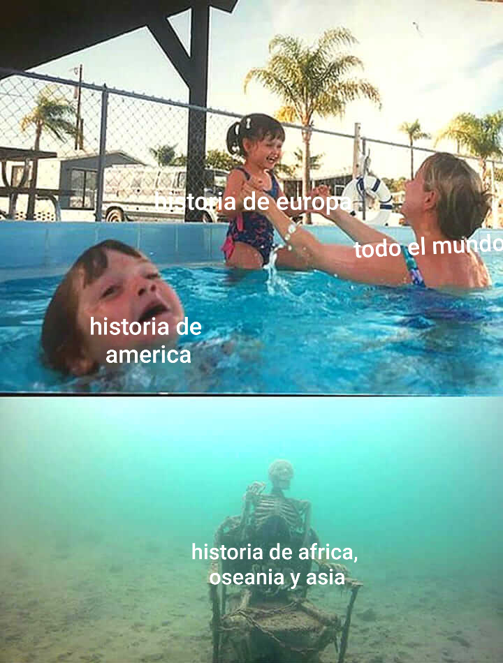 La historia nunca nombra muchas cosas - meme