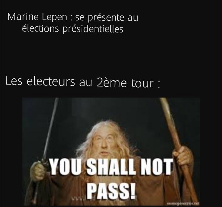 Gandalf sans repost - meme