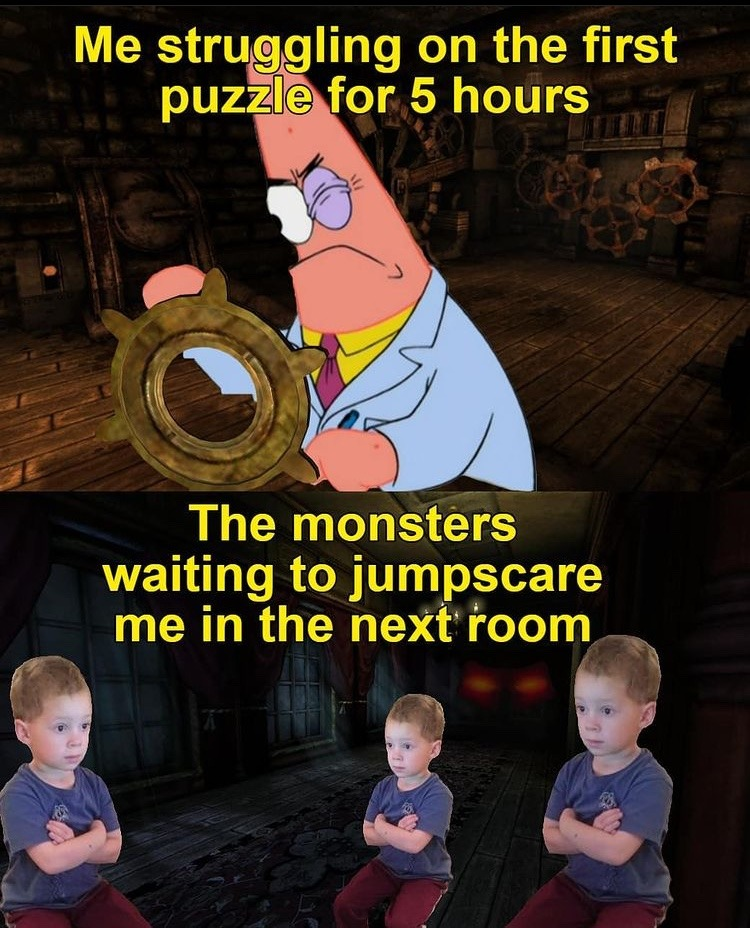 horror game - meme