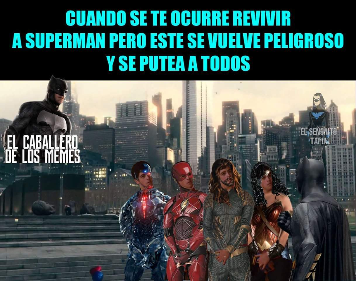 Justice league - meme