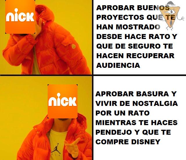 Nick sigue un camino recto hacia su tumba - meme