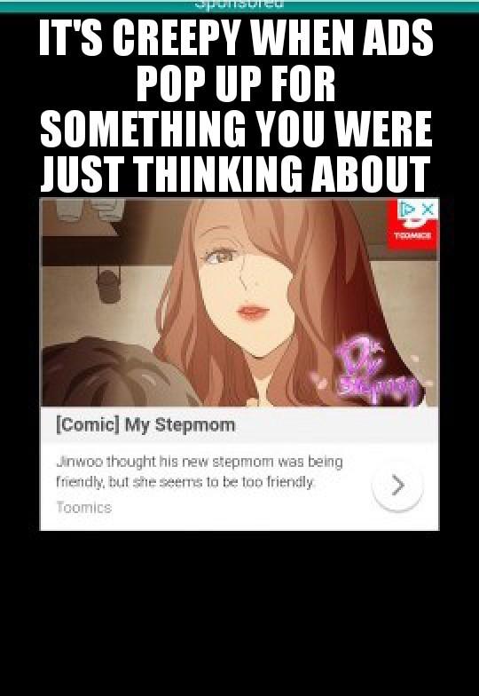 Stop reading my mind! - meme