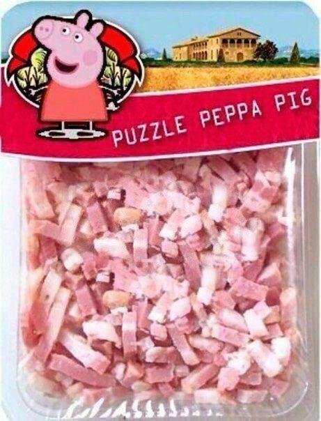 Puzzle Peppa Pig - meme