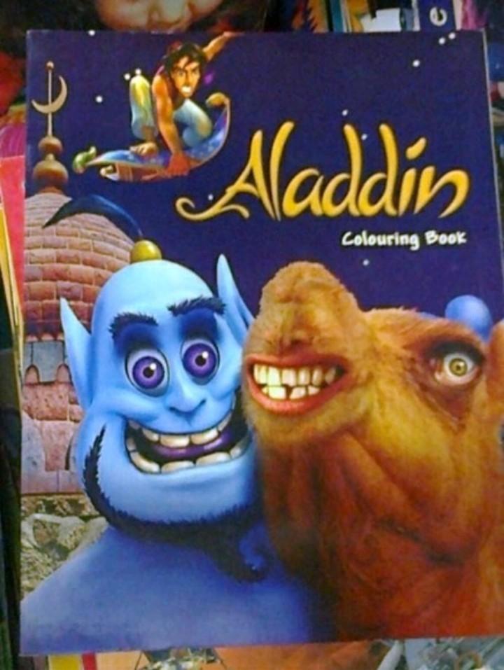 Aladdin da deep web - meme