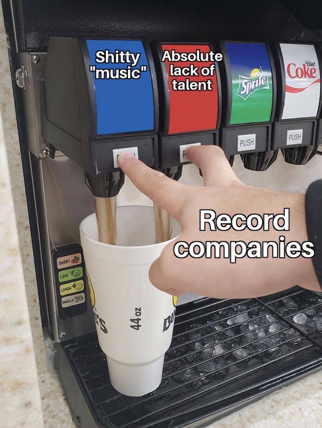 modern music - meme
