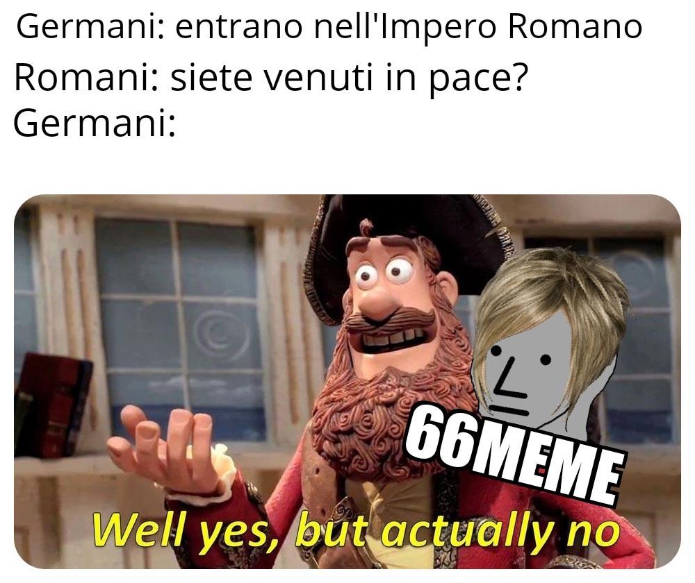 Un po' di storia non fa mai male - meme