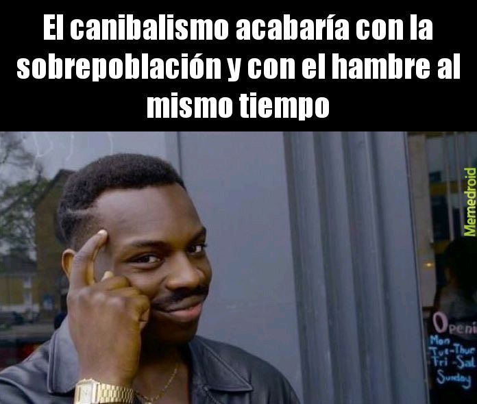 Canibalismo - meme
