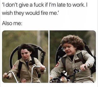 Late again, move mf - meme