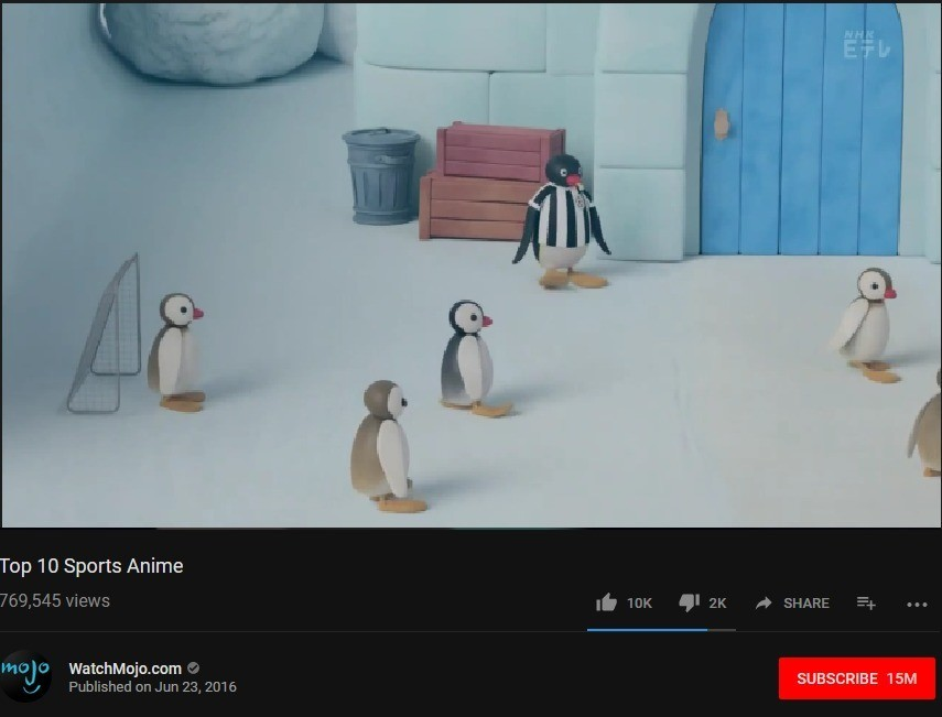Anime is pingu - meme