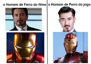 Iron Man fake - meme