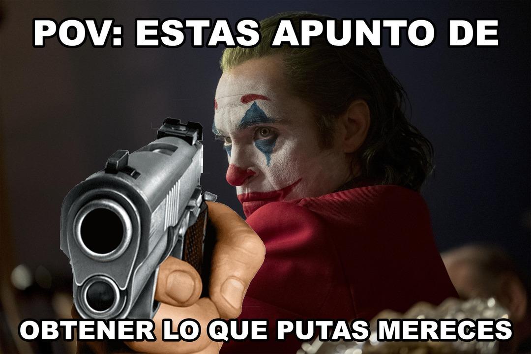 POV: joker - meme