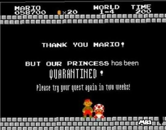 Princess Quarantined - meme