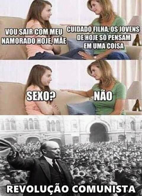 Revolução capitalista - meme