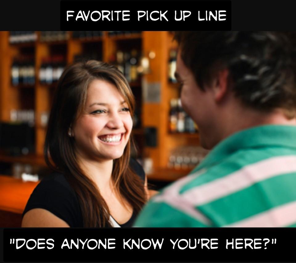 Pick up line - meme