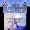 Don't be hatin on McD son