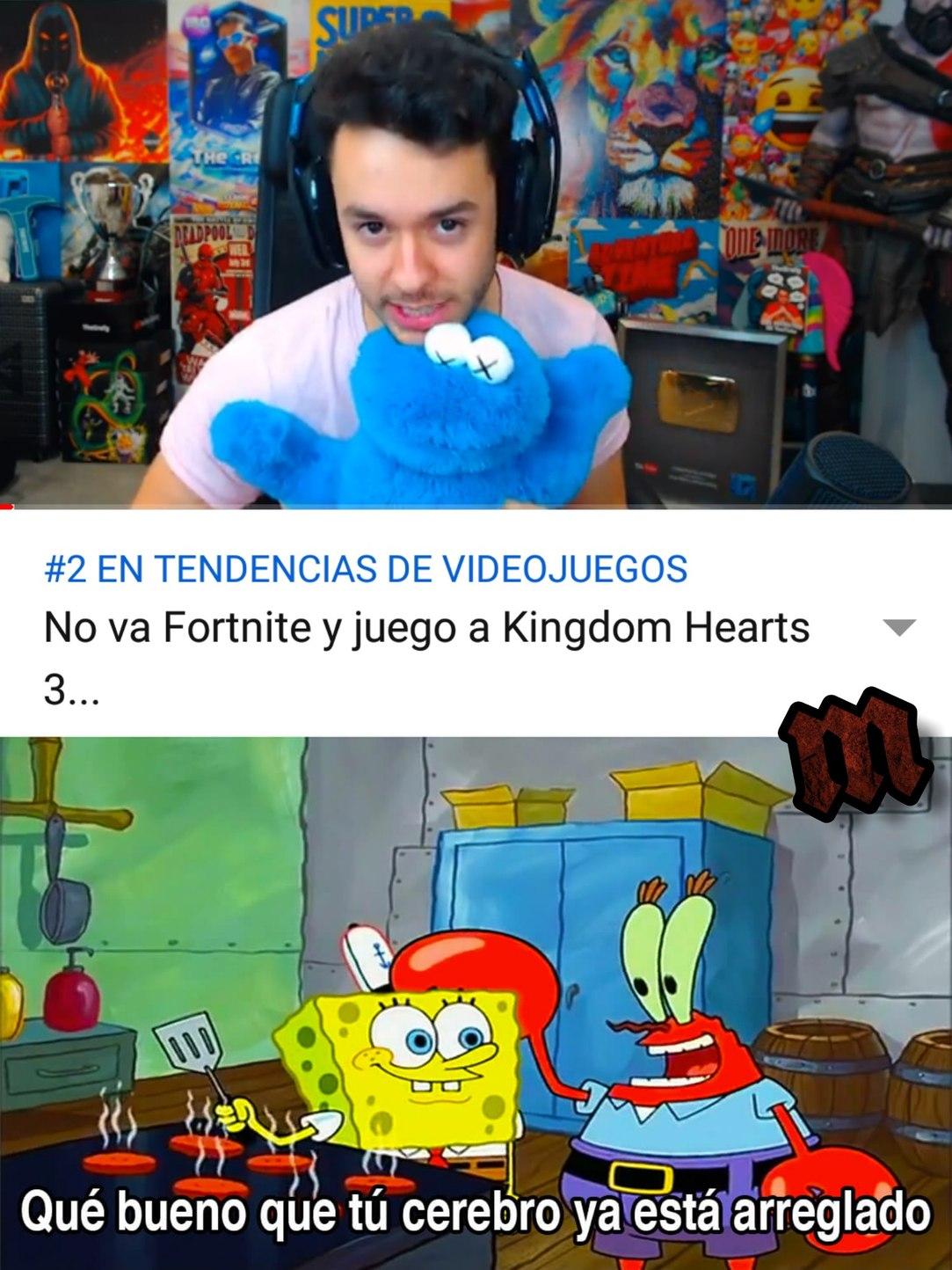 El Disney - FF 3 - meme