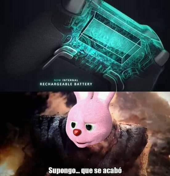 Pobre conejito - meme