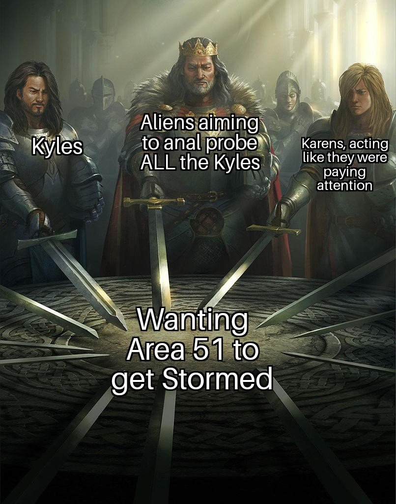 Pay attention KAREN - meme