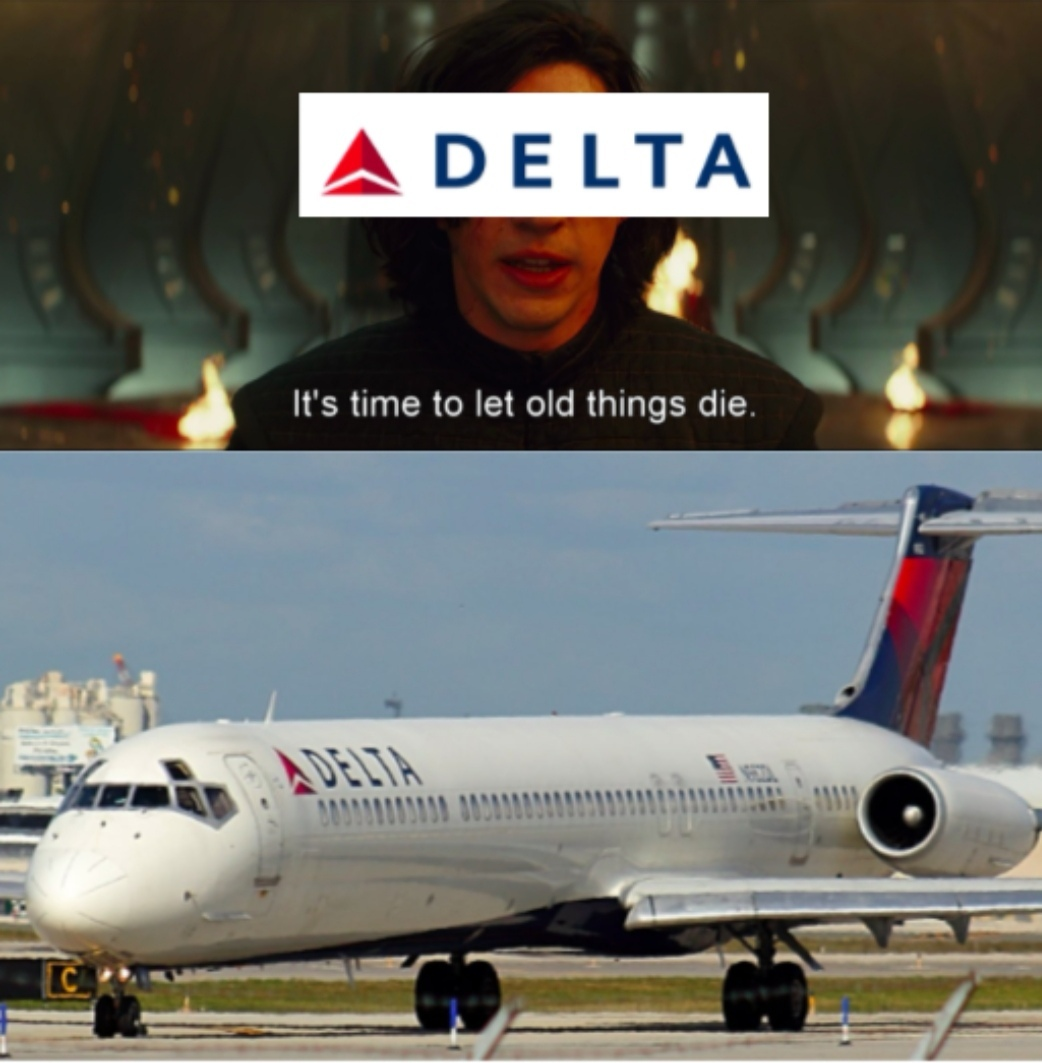 Sad MD 80 noises (last commercial flight) - meme