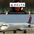 Sad MD 80 noises (last commercial flight)