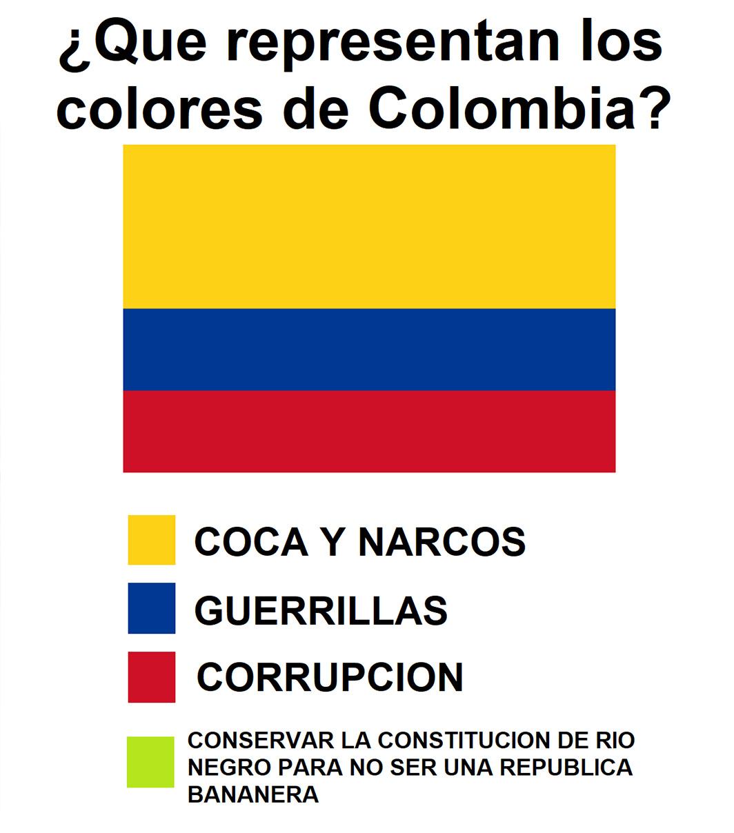 estados unidos de colombia - meme