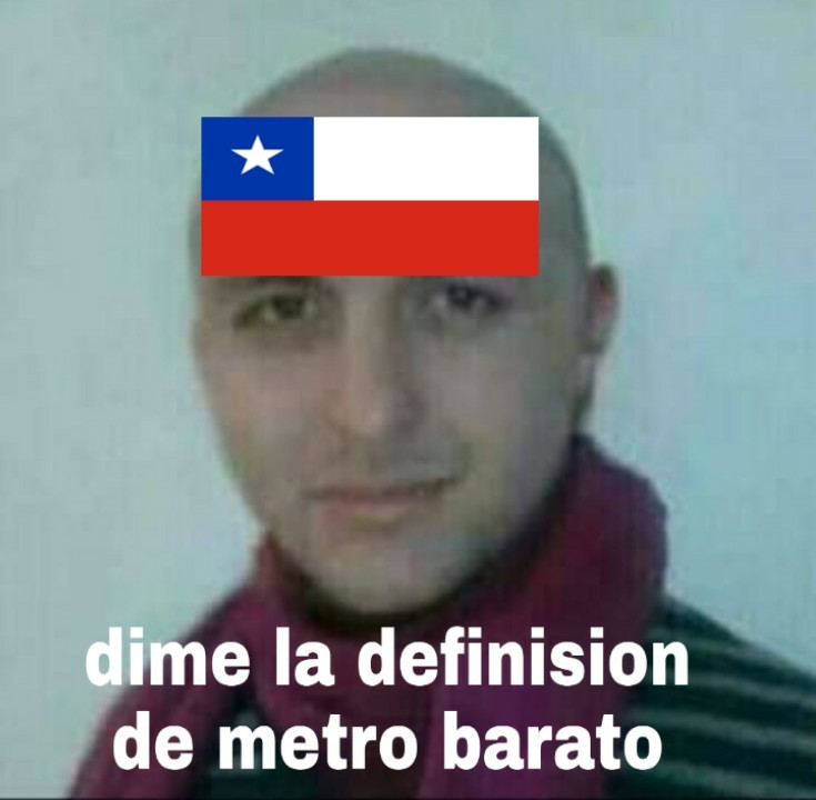F por chile - meme