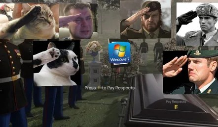 Press F to Pay respects - meme