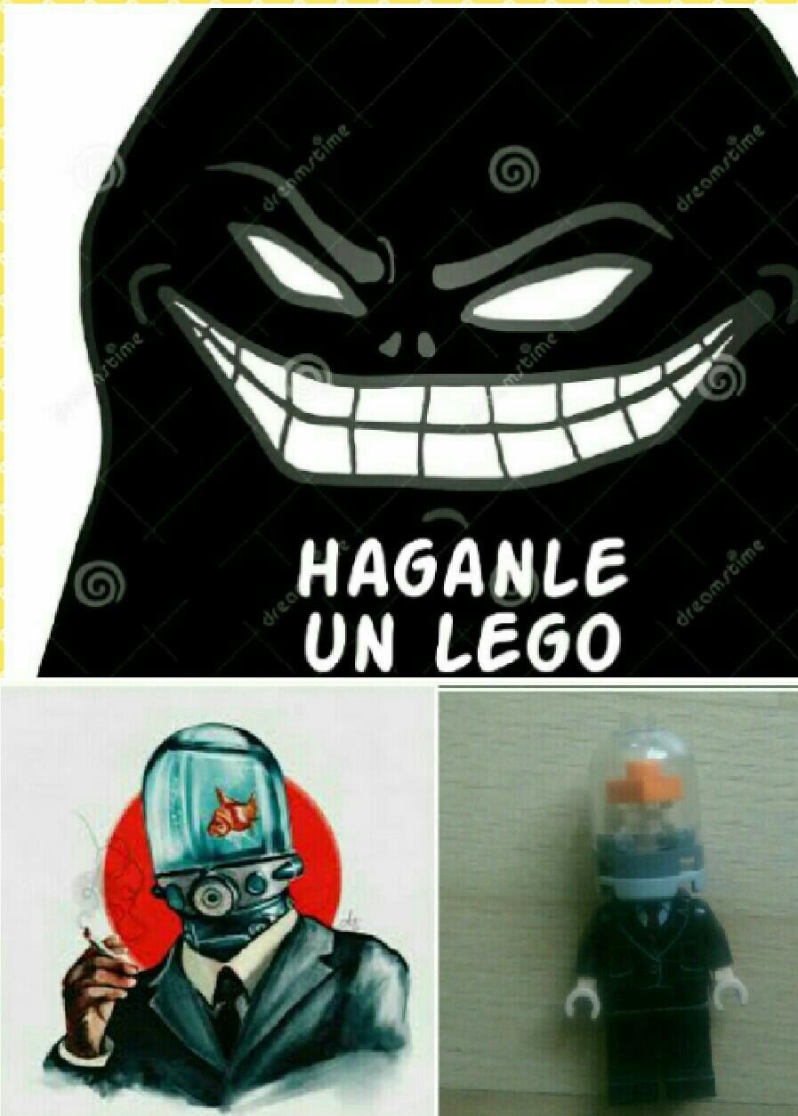 Auto-lego - meme