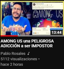 En el video habla de Rubius - meme