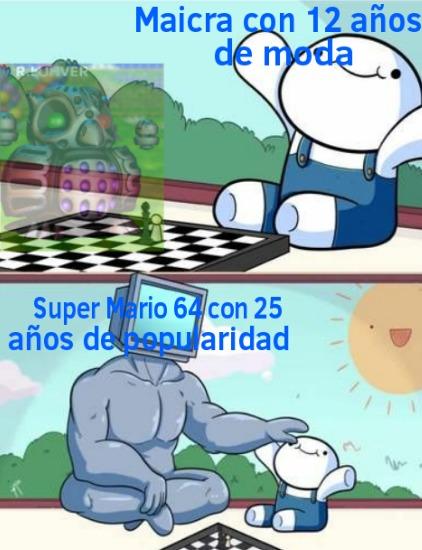 Super Mario 64 = :chad: Maicra = :soyjaka: :soyjakb: - meme