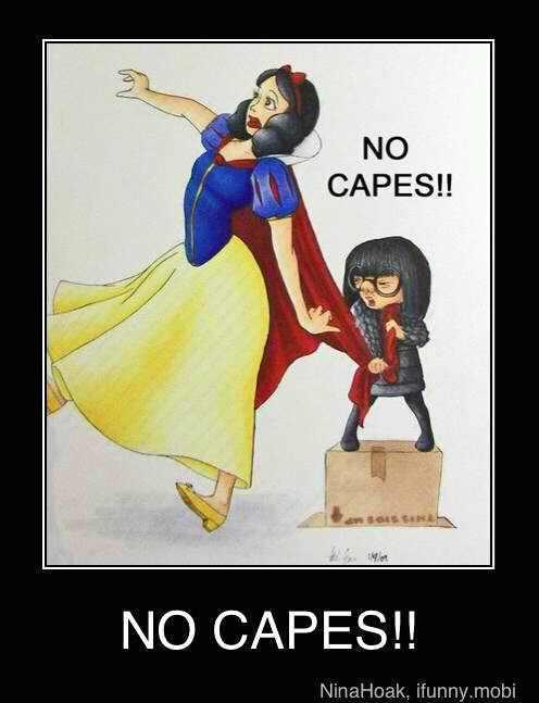 No Capes. - meme