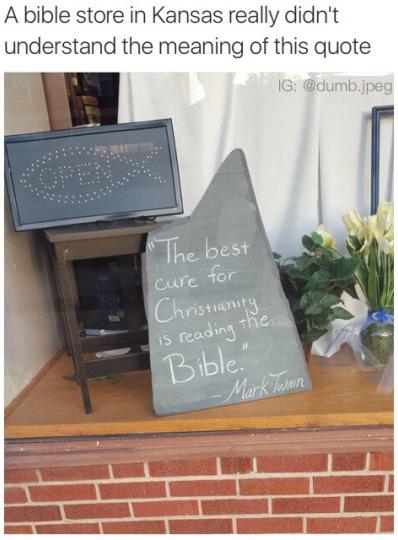 Stupid religion - meme