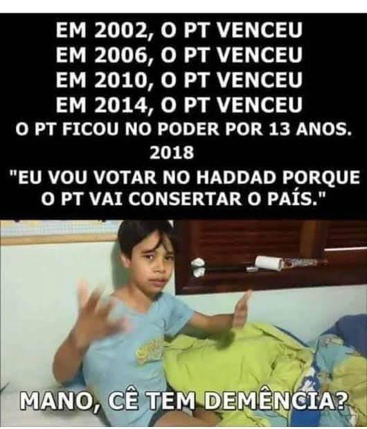 PT - Brasil - meme
