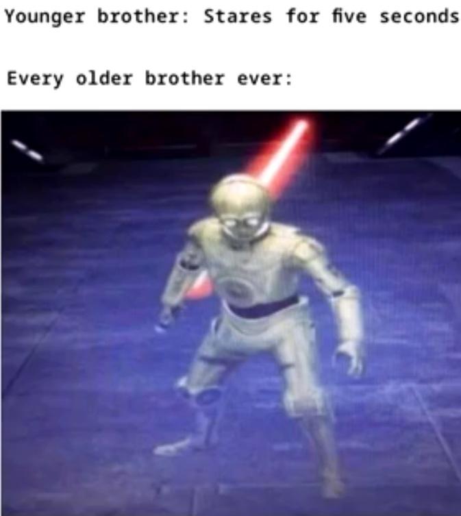 Brother Vs. Brother - meme