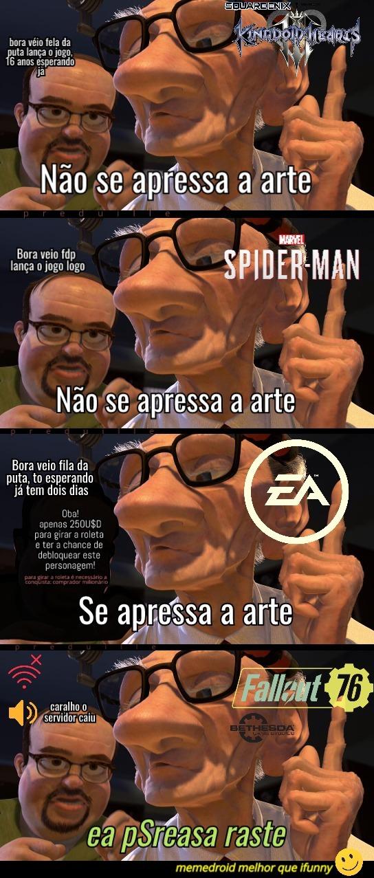 Meme de videogame fodase