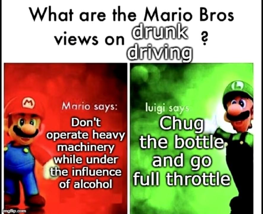 Chug chug chug - meme