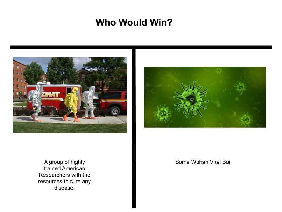 The wuhan ultimatum - meme