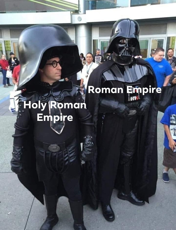 It was nothing but a false idol, a usurper - meme