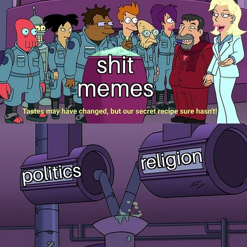 This wave of trump bad and biden bad memes suck