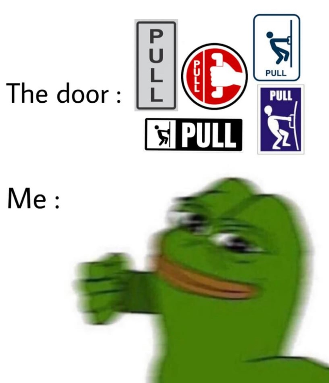 Pull - meme