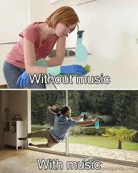 Music HELPS - meme