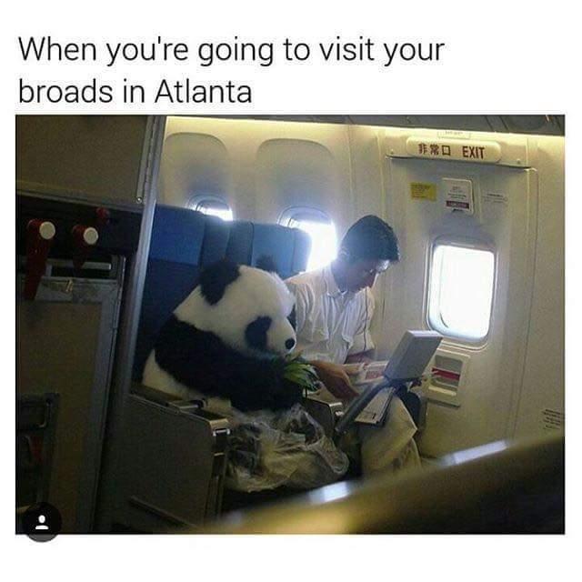 I got broads in Atlanta - meme