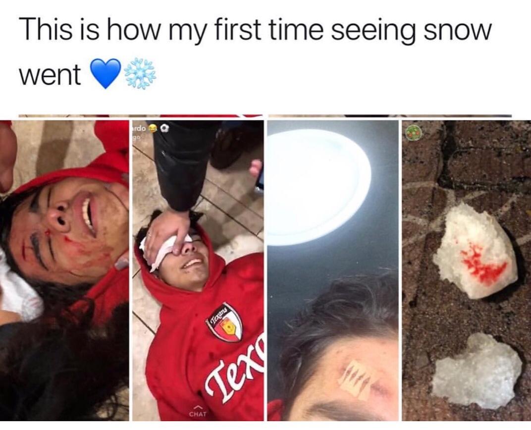 Bruh, that's cold - meme